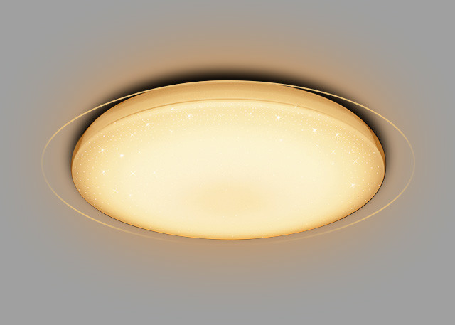 38W Modern Design LED Warm White Light Ceiling Lamp With High Color Rendering Index